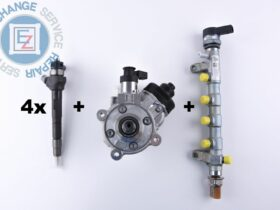 CR Set Bosch Injectors + Pump + Rail