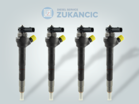 4 Remanufactured Fuel Injectors | Bosch | 0445110368 0986435166 | VW Audi Seat Skoda 2,0 TDI