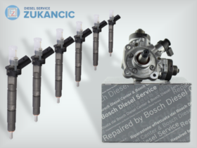6 Remanufactured Injectors + 1 High-Pressure Pump | Bosch | 0445116024 7805428 0445010617 | BMW
