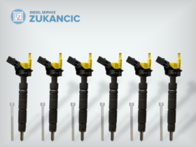 6 Refurbished Fuel Injectors | A6420701387 0445115064 | Mercedes-Benz